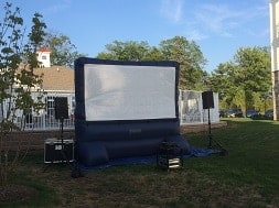 Inflatable movie screen rentals NJ