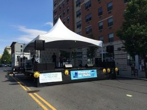 Mobile Stage Canopy
