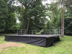Mobile Stage Open