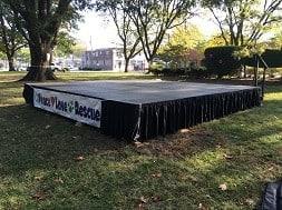 Outdoor Stage rental NJ