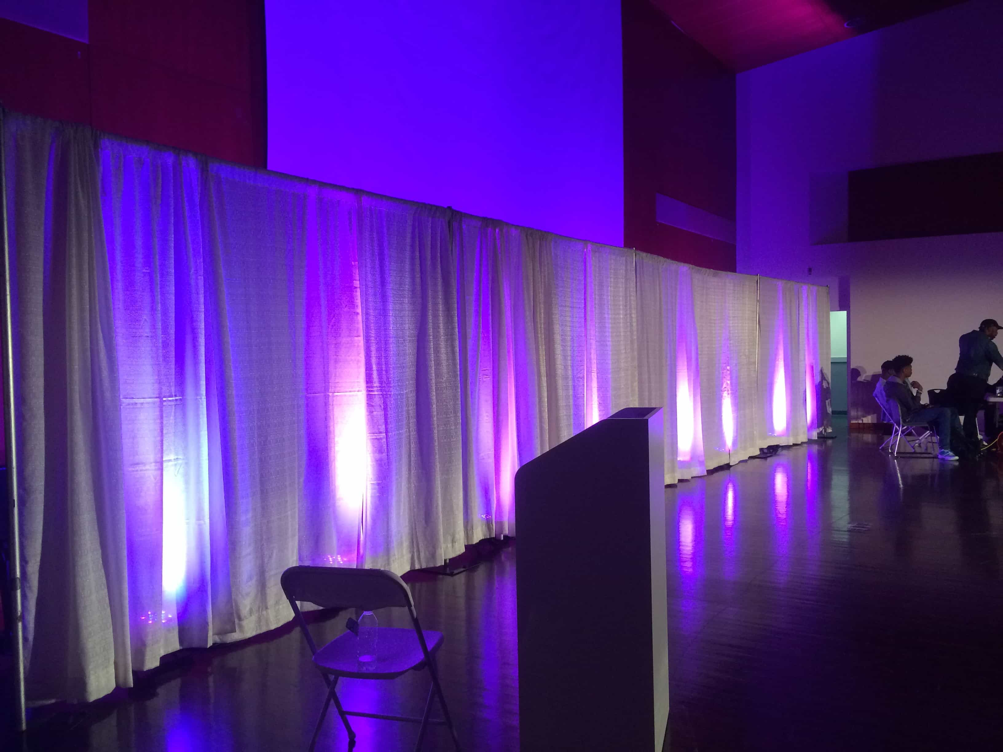 Fashion Show Staging Sound And Lighting In Nj