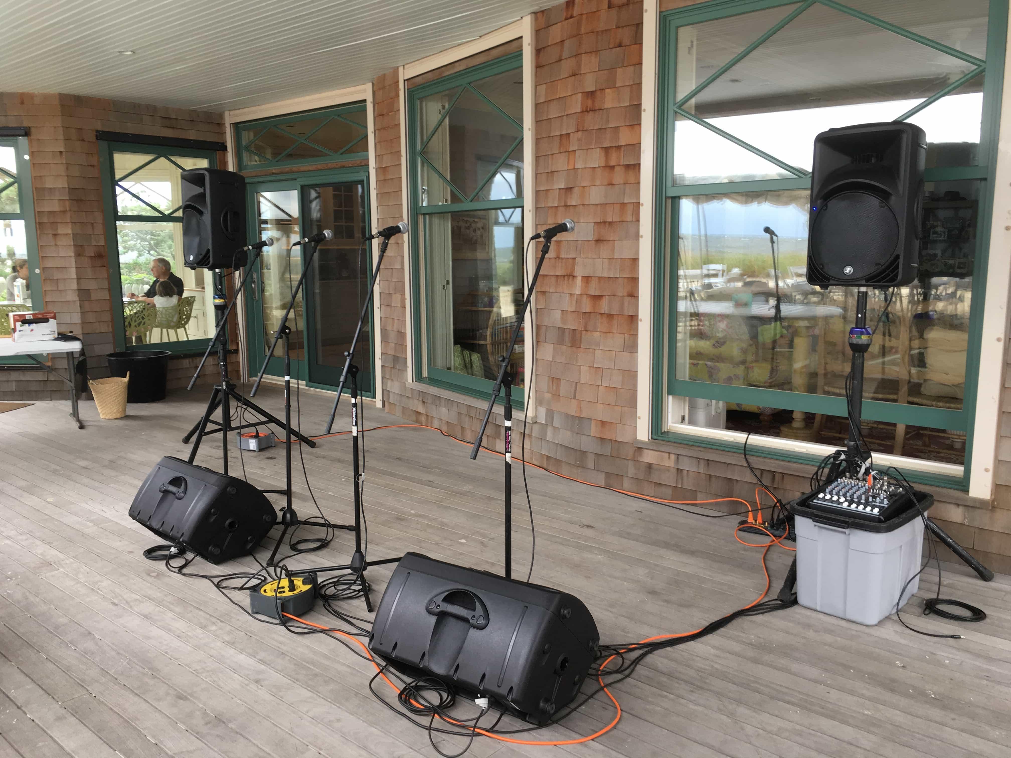 Jersey Shore Sound Rentals- CMT Sound Systems