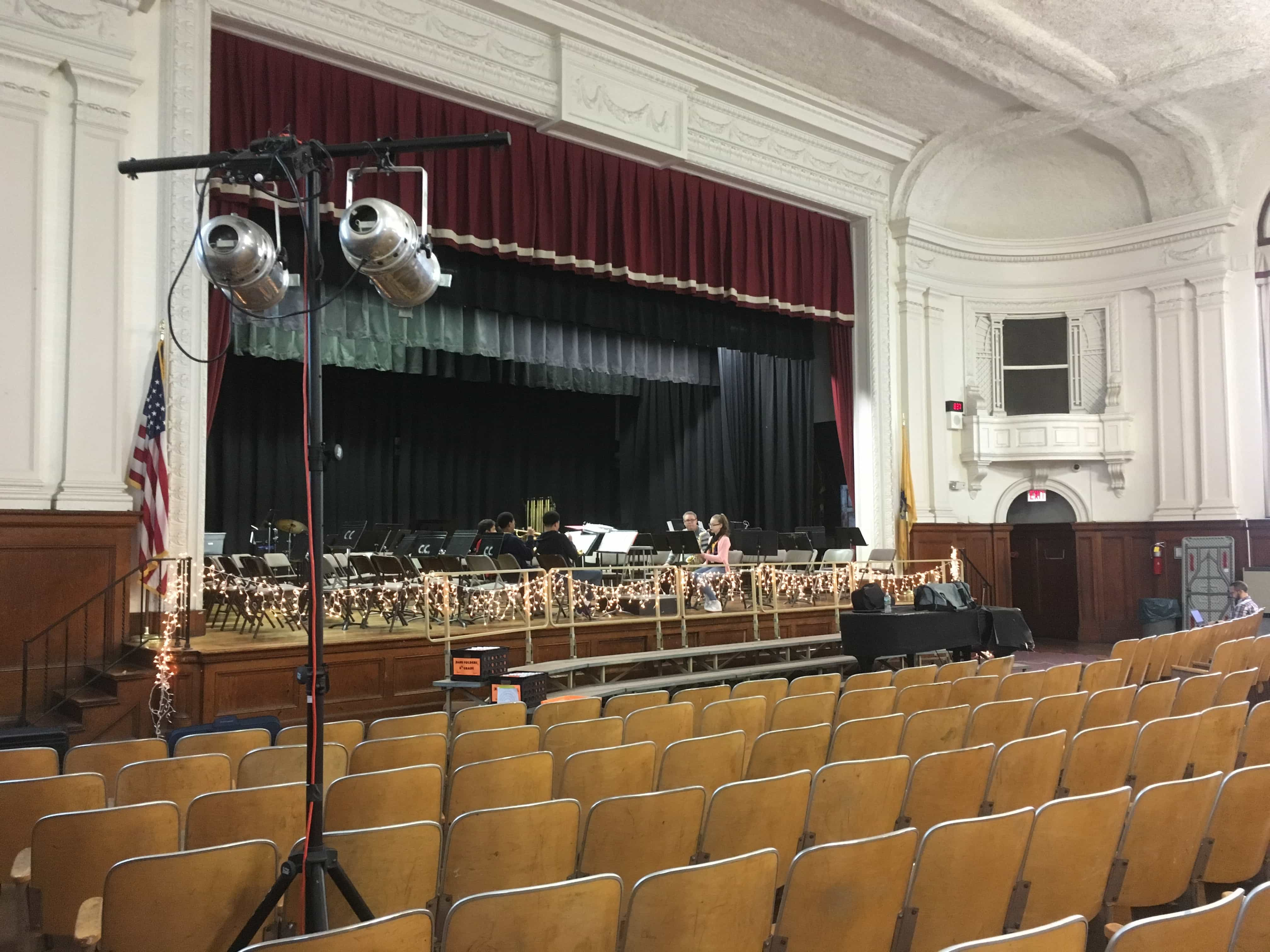 Holiday concert stage lighting in nj cmt sound systems
