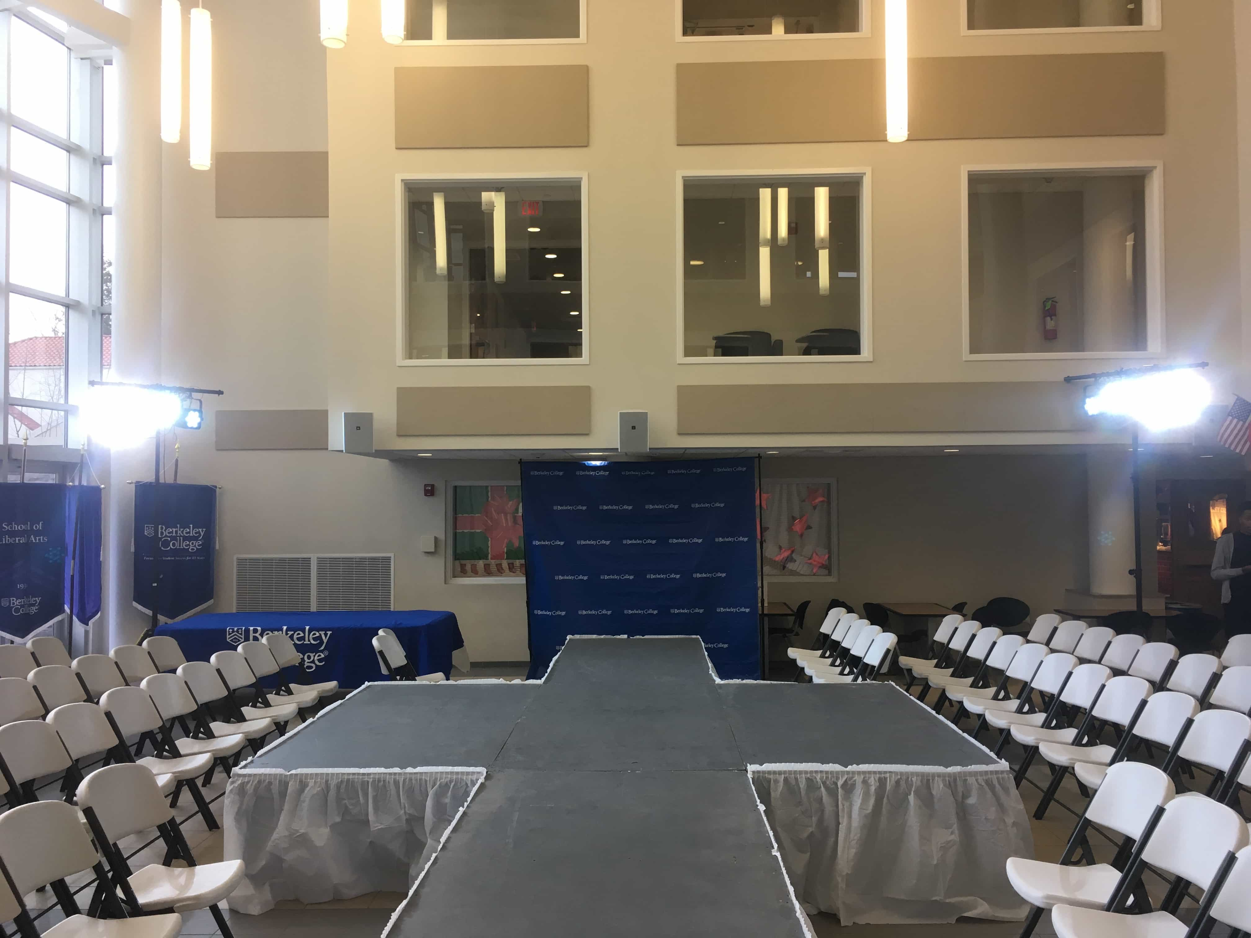 Stage Lighting Rentals For Fashion Shows In New Jersey