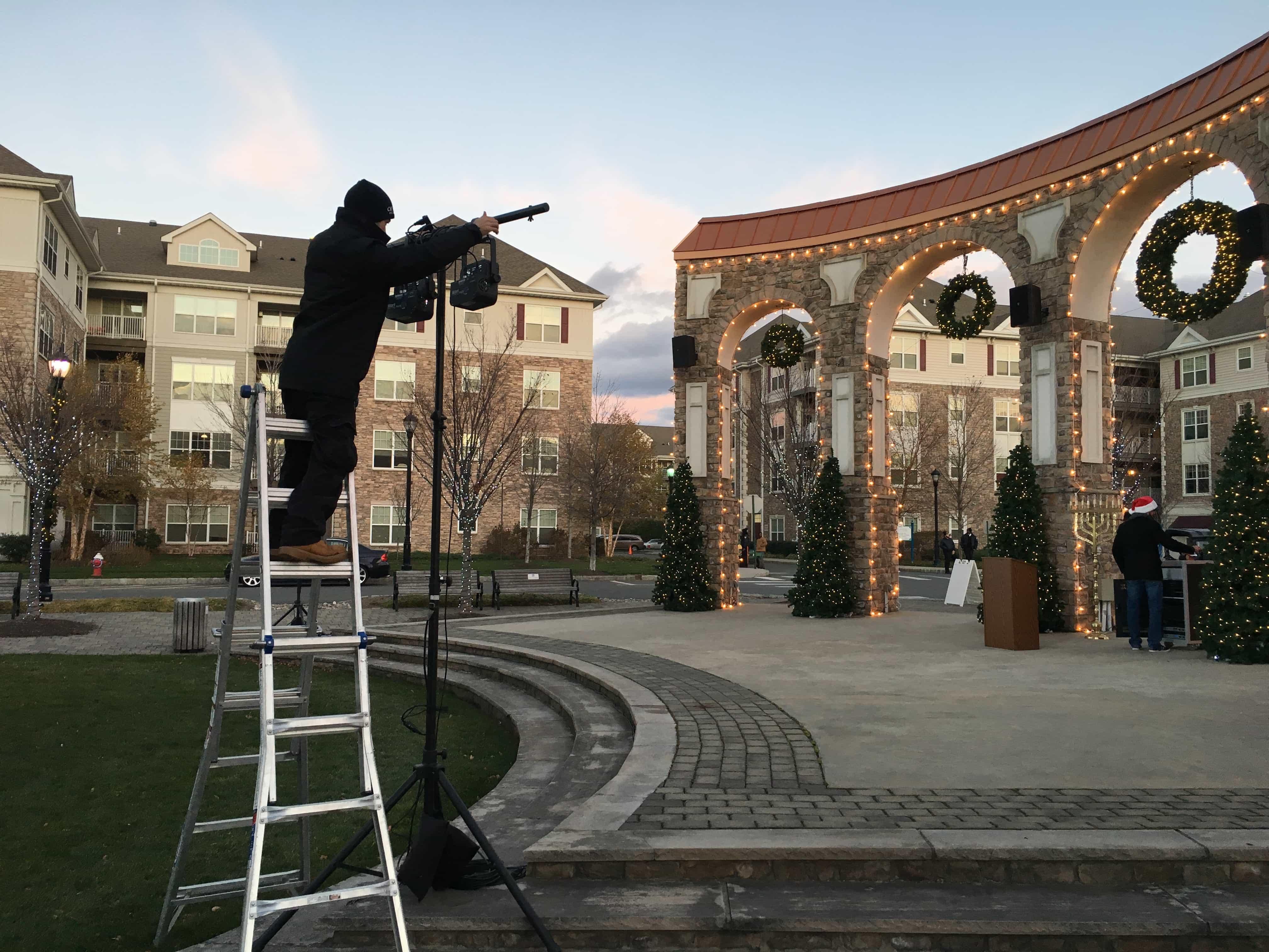Outdoor Stage Lighting Rentals In Nj Cmt Sound Systems