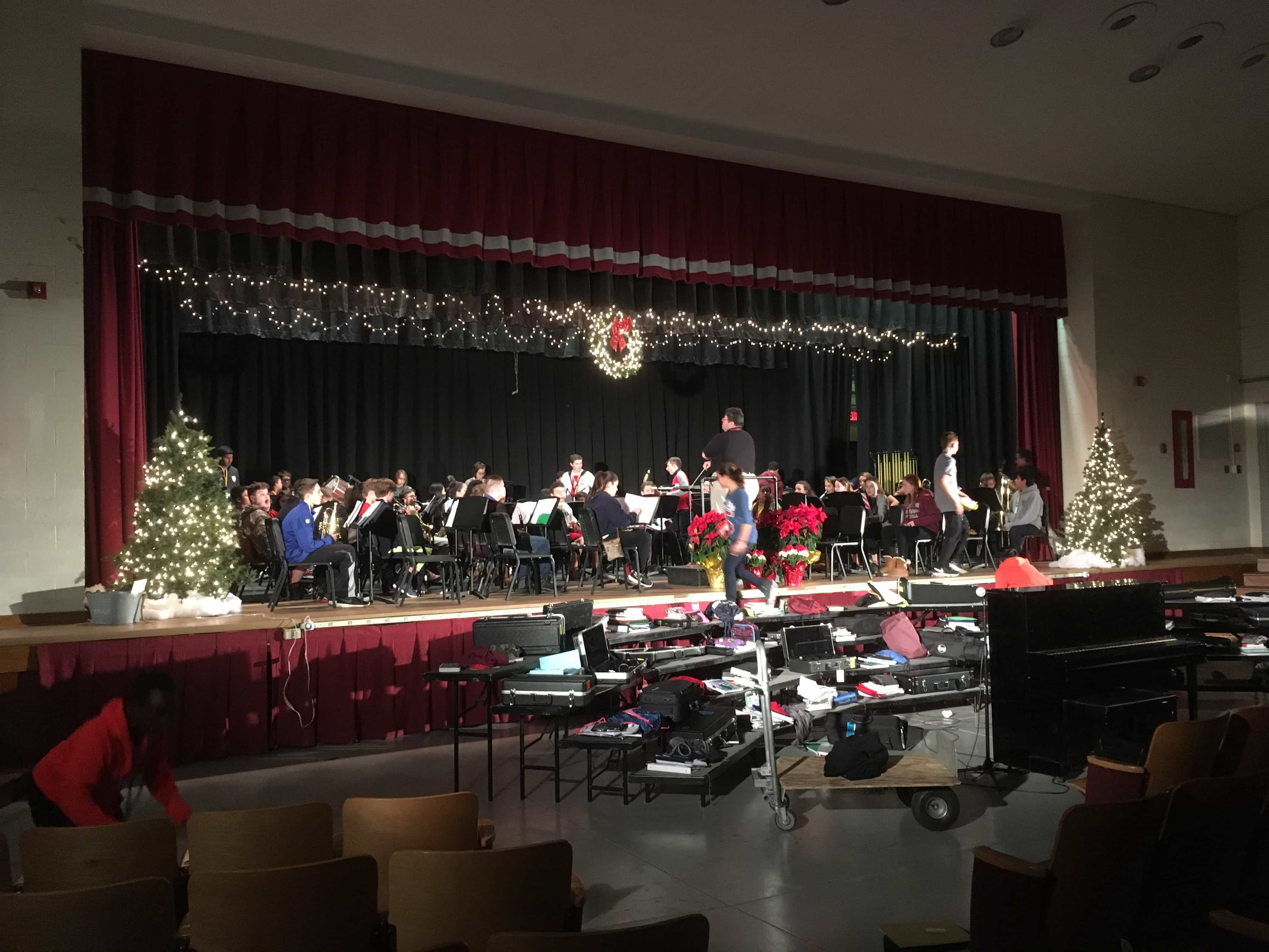Holiday stage lighting in nj cmt sound systems