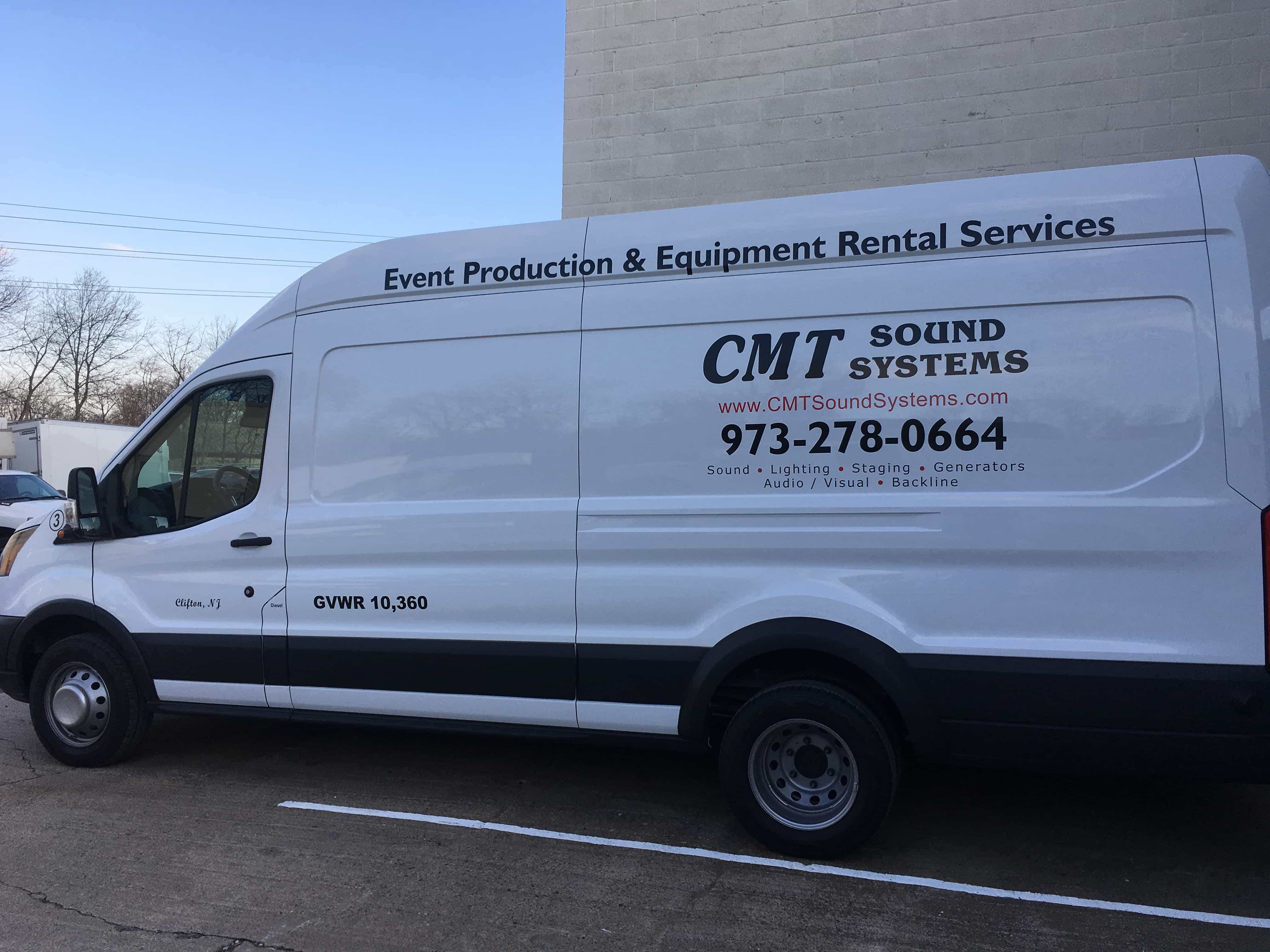 Truck fleet expands for 2017 - CMT Sound Systems