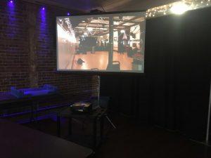 Hoboken Video Projection rental